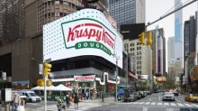 KRISPY KREME® Lights World's Largest Hot Light in Celebration of Times Square Flagship Grand Opening