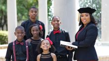Mother of 5 whose graduation photos went viral is now an attorney: 'My life has changed tremendously'