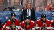 Panthers part ways with coach who allegedly kicked player on bench