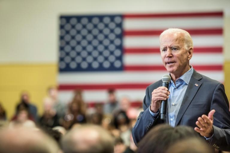 2020 Democratic presidential candidate Joe Biden has had a successful political career but a life marked by personal tragedy (AFP Photo/Sean Rayford)