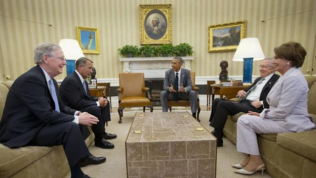 Raw: Obama, Congressional Leaders Meet on Iraq