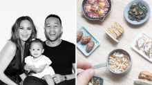 John Legend gifts Chrissy Teigen mini food sculptures made by Singapore artist