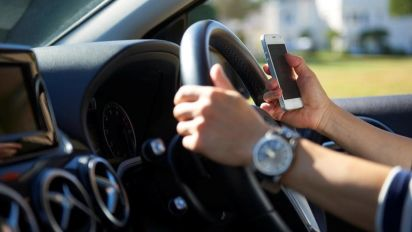 Most drivers don't think texting and driving is dangerous