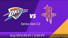 Rockets vs. Thunder Game 5 best bets