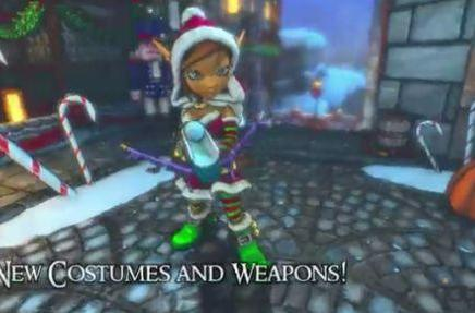 Dungeon Defenders for Steam gets new holiday skins and maps, on sale