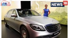 Auto Expo 2018 : First Look of Mercedes-Maybach S 650 at Auto Expo