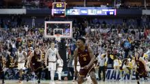 Loyola Chicago's upset featured a great celebration from Donte Ingram's dad
