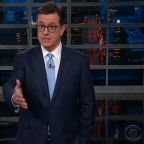 Stephen Colbert praises students seeking gun control legislation in wake of Parkland shooting
