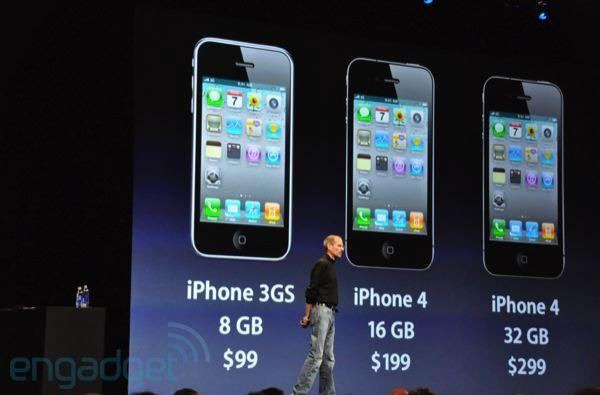 iPhone 3GS drops to $99, 8GB only -- iPhone 3G discontinued