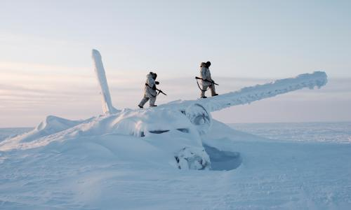 Freezing cold war: militaries move in as Arctic ice retreats – photo essay