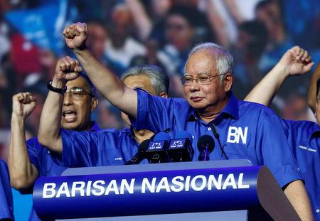 Image result for malaysia's fake news commander-in-chief najib razak