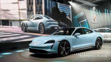 Porsche's electric Taycan draws interest from 30,000 buyers - Handelsblatt