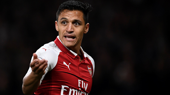 Alexis Sanchez mocked by Arsenal team-mates