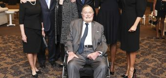 George H.W. Bush admitted to Houston hospital