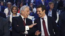"""Casado cree que tras oír a Rajoy y Aznar """"queda claro que el PP está unido"""""""
