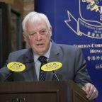 Hong Kong's last British leader: China's agenda 'Orwellian'
