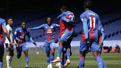 Tyrick Mitchell the unlikely hero as Crystal Palace grab comeback win