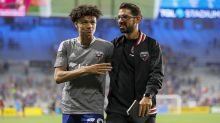 D.C. United coach Hernán Losada jokes he may 'put his cleats on' for depleted team