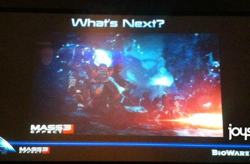 Rampant Speculation Theater presents: BioWare teases single Mass Effect 3 image