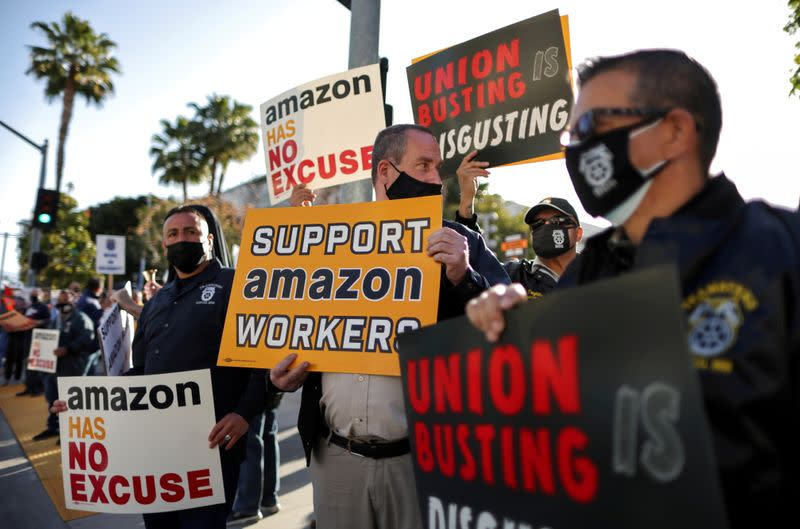 finance.yahoo.com: Amazon's new union battle: Teamsters go local to snarl expansion