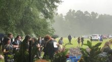LIVE UPDATES: Hundreds attend funeral for Murdaughs before it ends swiftly due to rain