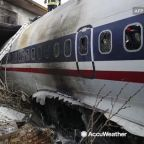15 killed after plane crashes during rain and low visibility