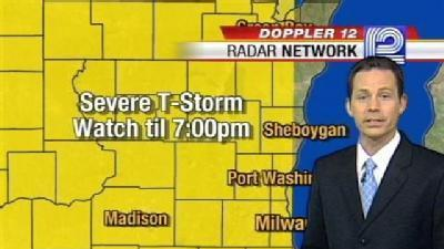Severe Thunderstorm Watch Until 7 p.m.
