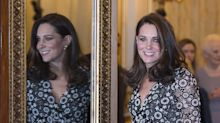 Kate Middleton de negro después de los BAFTA