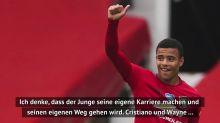 Solskjaer: Vergleiche Greenwood nicht mit Ronaldo