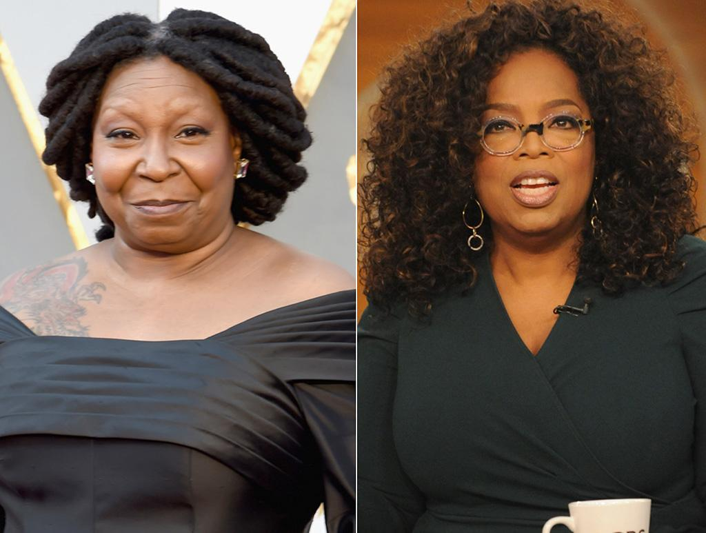 Oprah reacts to total beauty s whoopi goldberg mix up for Whoopi goldberg tattoo