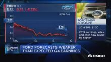 Ford forecasts weaker than expected Q4 earnings