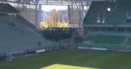 Foot - LFP - Saint-Etienne convoqué par la LFP après le huis clos brisé par ses supporters