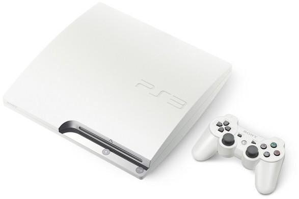 White PS3 Slim with 160GB HDD hits Japan July 29th, new 320GB HDD option