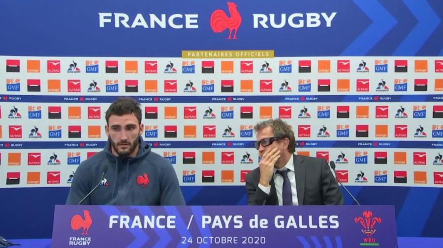 Rugby - Bleus : Ollivon : «On a fait preuve de caractère»