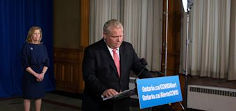 Poll finds Ford popularity slipping in Ontario