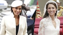 Meghan Doesn't Want to Upstage Kate's Bridal Gown