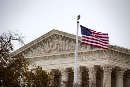 FILE PHOTO: The Supreme Court in Washington