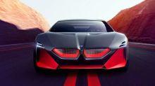 BMW unveils Vision DC Roadster, Vision M Next Electric Sportscar concepts