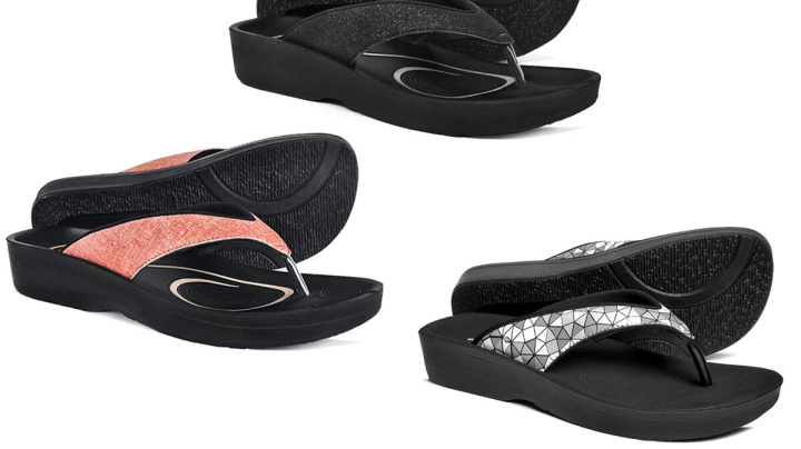 These Comfort Sandals Come With Orthopedic Arch Supports and Still Look So Cute
