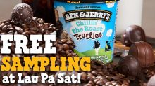 Free Ben & Jerry's ice cream up for grabs at Lau Pa Sat for two weeks