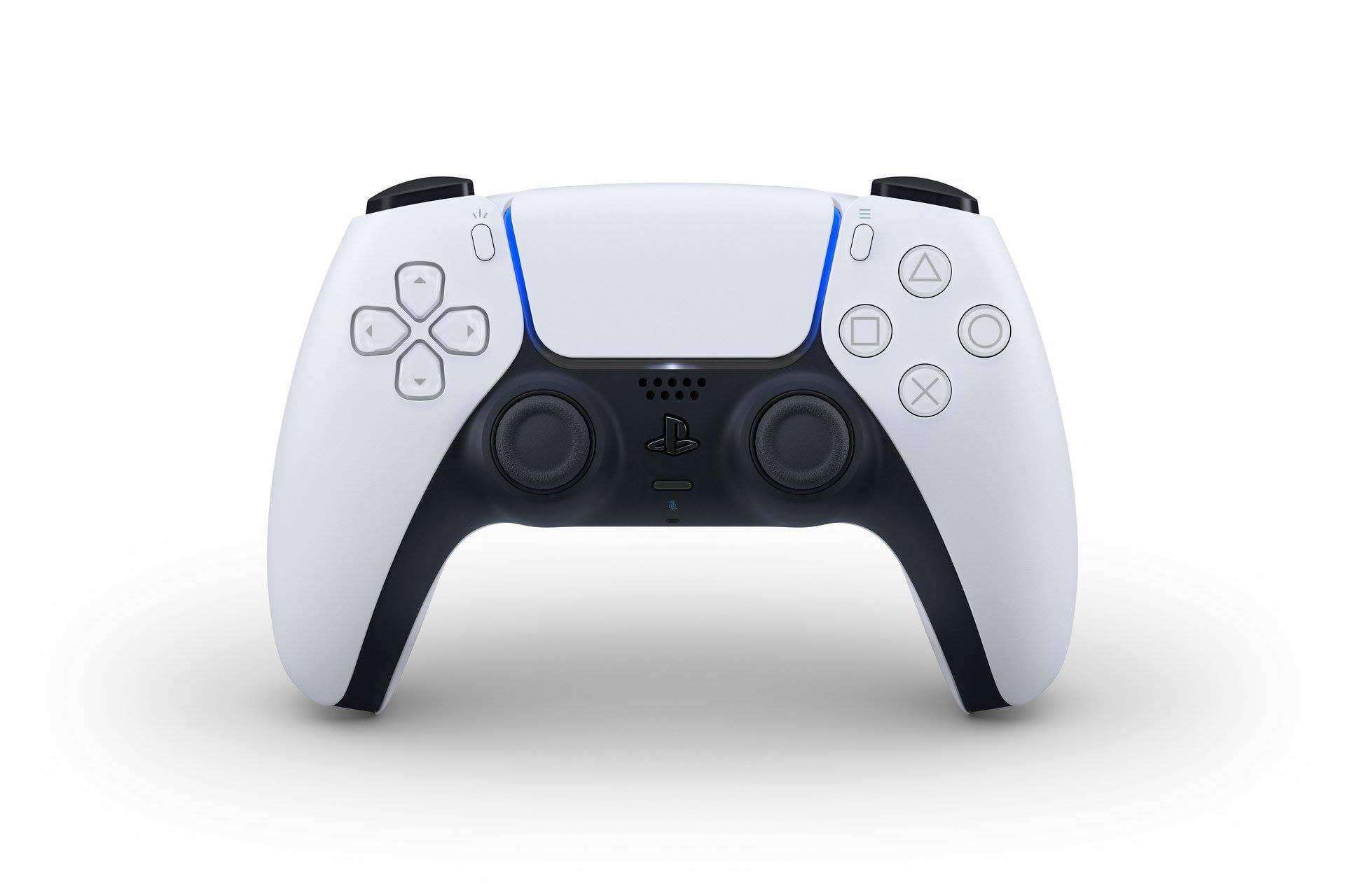 PS5 手把「DualSense」無預警公開!造型、顏色皆大改