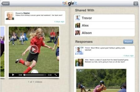 Givit makes private video sharing from iOS quick and easy
