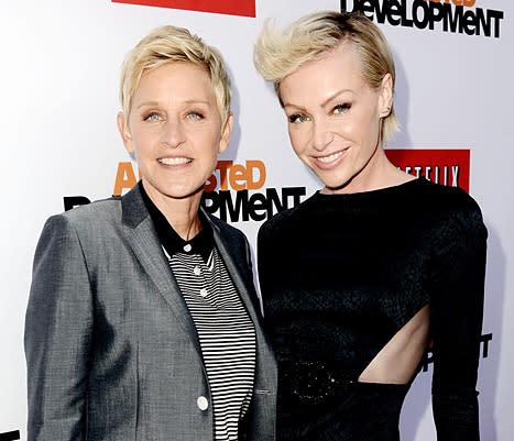 Ellen DeGeneres Denies Marriage Problems With Portia De Rossi ...