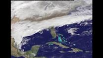 NASA images capture U.S. snow storm from space