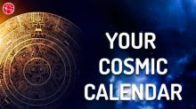 Your Cosmic Calendar For The Week 10th June to 16th June 2018