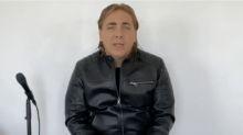 """Cristian Castro despide a su papá, """"El Loco"""" Valdés con un videomensaje"""