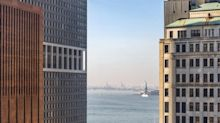 View Smart Windows Transform 100 Pearl Street Overbuild in the Financial District, Lower Manhattan