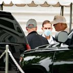 Donald Trump faces coronavirus backlash after being pictured without a face mask