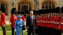 La rencontre entre Elizabeth II et les Trump en images