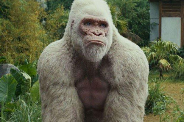 Rampage Stomps Past A Quiet Place For 34 5 Million Box Office Win